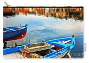 Boats In Autumn Carry-all Pouch