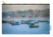 Boats In Blue Twilight - Lima, Peru Carry-all Pouch