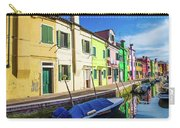 Boats In Burano Carry-all Pouch