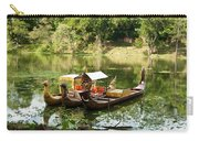 Boats In Lake Ankor Thom Carry-all Pouch