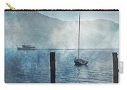 Boats In The Fog Carry-all Pouch by Joana Kruse