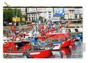 Boats In The Harbor - La Coruna Carry-all Pouch
