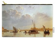 Boats On A River Carry-all Pouch