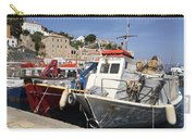 Boats On Hydra Carry-all Pouch