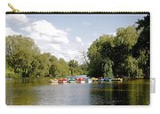 Boats On Markeaton Lake Carry-all Pouch
