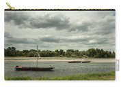 Boats On River Loire - France Carry-all Pouch