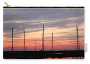 Boats On The Bay Carry-all Pouch