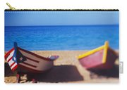 Boats On The Beach, Aguadilla, Puerto Carry-all Pouch