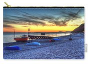 Boats On The Beach At Branscombe  Carry-all Pouch