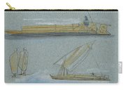 Boats On The Nile Carry-all Pouch