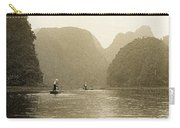 Boats On The River Tam Coc No1 Carry-all Pouch