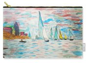 Boats On Water Monet  Carry-all Pouch