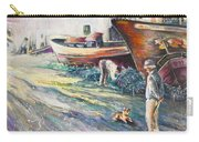 Boats Yard In Villajoyosa Spain Carry-all Pouch