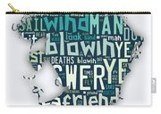 Bob Dylan Blowin In The Wind Carry-all Pouch