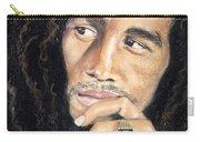 Bob Marley Carry-all Pouch by Ashley Kujan