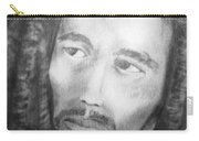 Bob Marley Pencil Portrait Carry-all Pouch