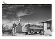Bob Wills And The Texas Playboys Tour Bus Turkey Tx Carry-all Pouch by Mary Lee Dereske