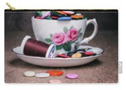Bobbin And Buttons Carry-all Pouch