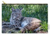 Bobcat In The Grass 2 Carry-all Pouch