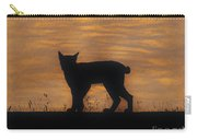 Bobcat - Sunset Carry-all Pouch