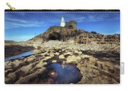 Bob's Cave At Mumbles Lighthouse Carry-all Pouch
