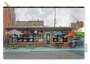 Bobs Downtown Diner Front Door Carry-all Pouch
