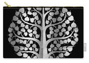 Bodhi Tree_iv_gold05_greyscale Carry-all Pouch