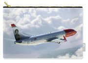 Boeing 737 Norwegian Air Carry-all Pouch