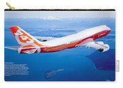 Boeing 747-8 Carry-all Pouch