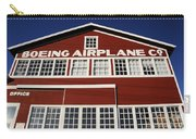 Boeing Airplane Hanger Number One Carry-all Pouch