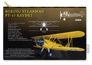Boeing Stearman N2s Kaydet Carry-all Pouch