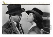 Bogey And Bergman Casablanca  1942 Carry-all Pouch