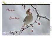 Bohemian Seasons Greetings Carry-all Pouch