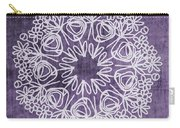 Boho Floral Mandala 2- Art By Linda Woods Carry-all Pouch