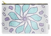 Boho Floral Mandala 4- Art By Linda Woods Carry-all Pouch