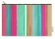 Boho Stripe- Art By Linda Woods Carry-all Pouch