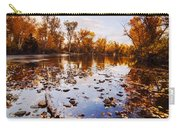 Boise River Autumn Glory Carry-all Pouch