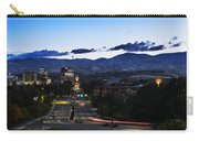 Boise Skyline In Early Morning Hours Carry-all Pouch
