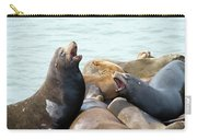Boisterous Pinnipeds Carry-all Pouch
