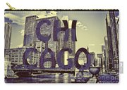 Bold Chicago Carry-all Pouch