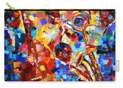 Bold Jazz Quartet Carry-all Pouch