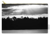 Bold Rays Monochrome Carry-all Pouch