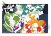 Bold Succulents 1- Art By Linda Woods Carry-all Pouch by Linda Woods