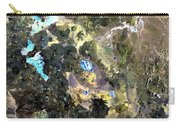 Bolivian Andes From Space Carry-all Pouch