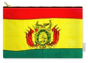 Bolivian Flag Carry-all Pouch