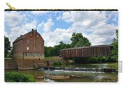 Bollinger Mill And Covered Bridge Carry-all Pouch