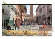 Bologna Artworks Of The City Hanging In  Carry-all Pouch