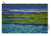 Bolsa Chica Wetlands I Abstract 1 Carry-all Pouch