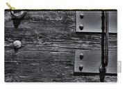 Bolted Wood Carry-all Pouch