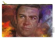 Bond - James Bond - Square Version Carry-all Pouch by John Robert Beck